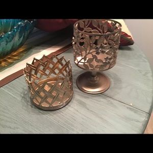 Two Bath and Body Works,CandleHolders, NWT